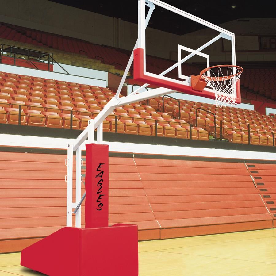 Bison T Rex 66 Side Court Portable Adjustable Basketball