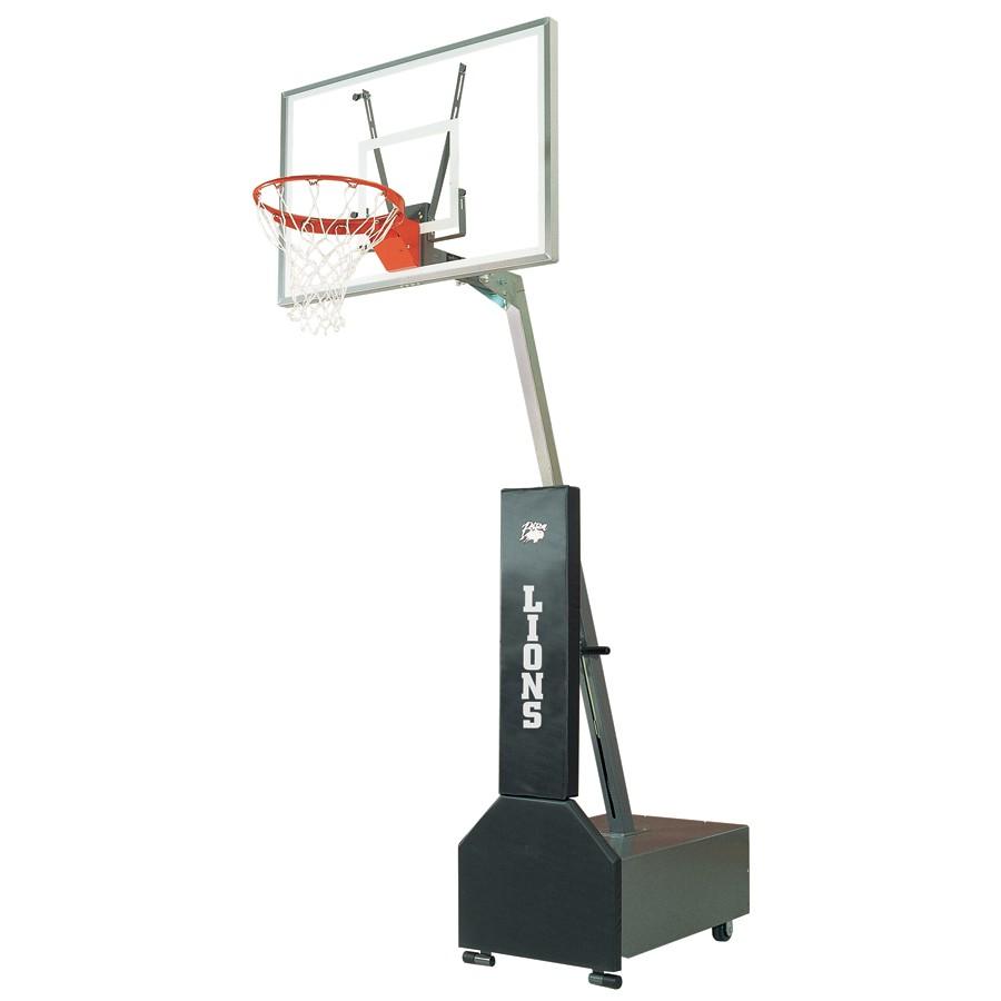 Bison Clubcourt Portable Adjustable Basketball System