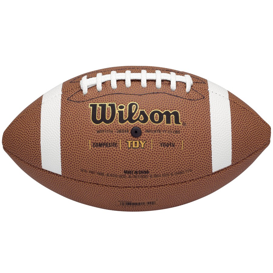 Wilson Tdy Composite Youth Football Sports Advantage