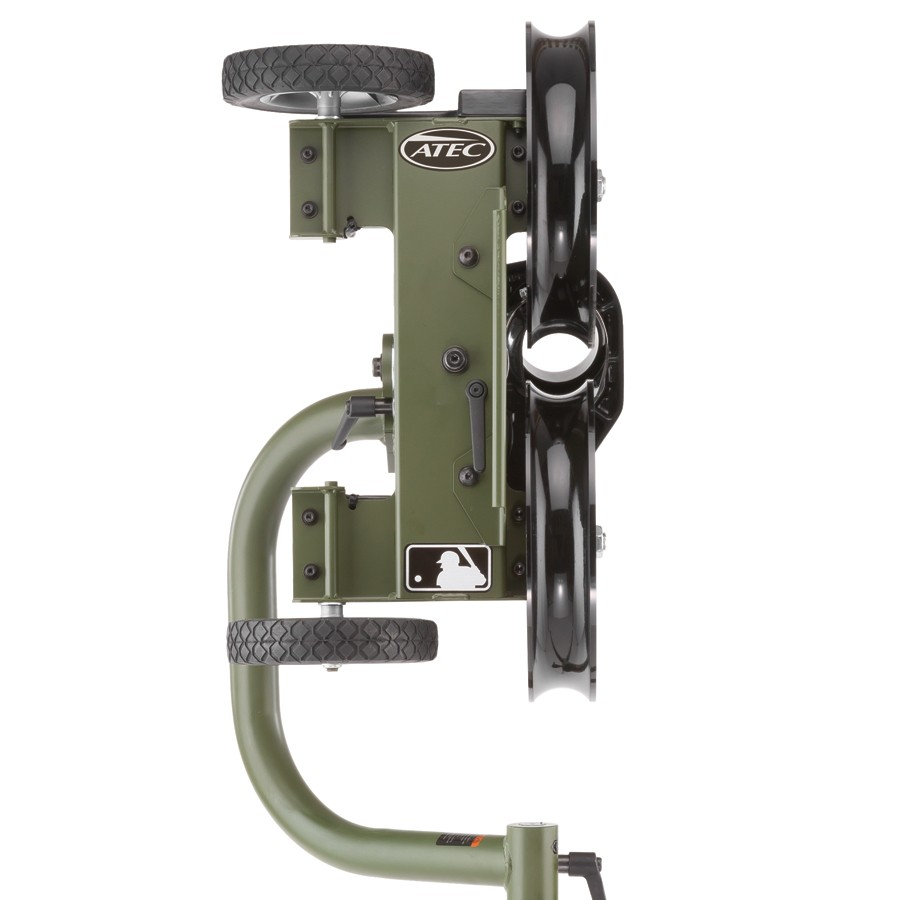 atec casey pro baseball pitching machine
