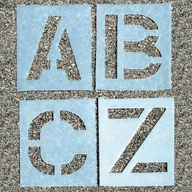 A-Z Alphabet Stencils