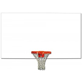 Gared Rectangular 42'' x 72'' In/Out Solid Steel Rec. Backboard