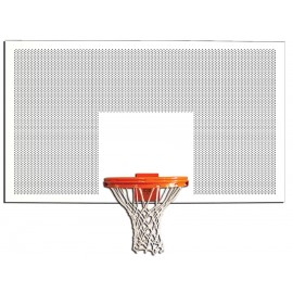 Gared Rect 42''x60'' In/Out Perforated Steel Rec Backboard