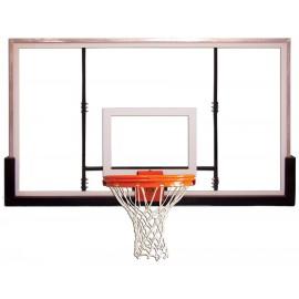 Gared 42'' X 60'' Glass Outdoor Recreational Backboard