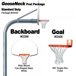 Gared Standard Duty Rear Mount Gooseneck Package