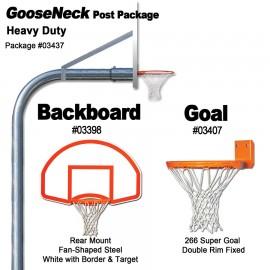 Gared Heavy-Duty Gooseneck Rear Mount Package
