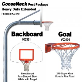 Gared Heavy-Duty Extended Gooseneck Package