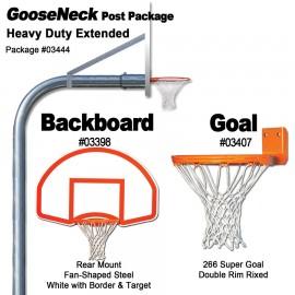 Gared Rear Mount Heavy-Duty Extended Gooseneck Package
