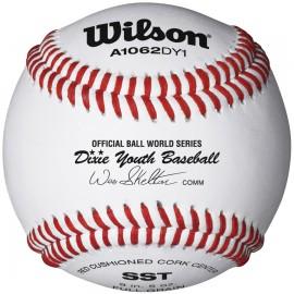 Wilson A1062B DY1 Dixie Youth Regular Season Baseballs