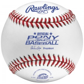Rawlings RPLB1 Pony League Regular Season Baseballs