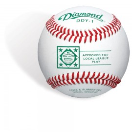 Diamond DDY-1 Dixie Youth Regular Season Baseballs