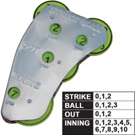 Champro Umpire 4- Dial Steel Indicator