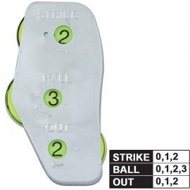 Champro Umpire 3- Dial Steel Indicator