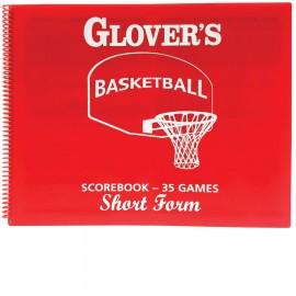 Glover's Shortform Basketball Scorebook