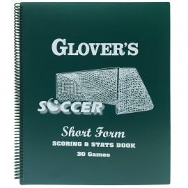 Glover's Shortform Soccer Scorebook