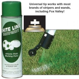 White Line Athletic Field Paint - Turf Green