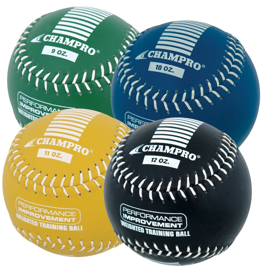 Champro gestreifter Trainings Softball