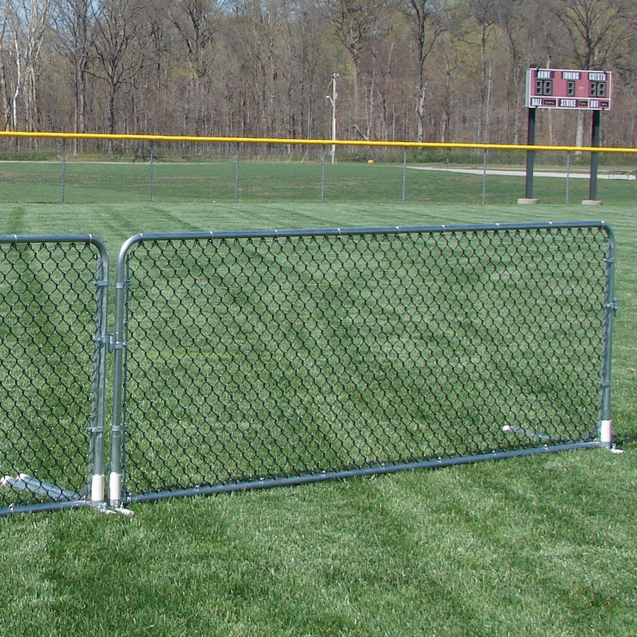 Chain Link Porta Fence Sports Advantage