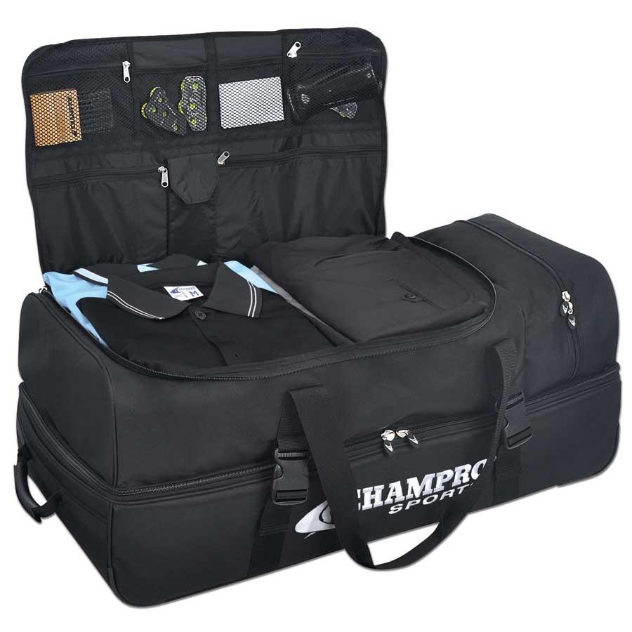 Champro Wheeled Umpire Catcher S Bag Sports Advantage