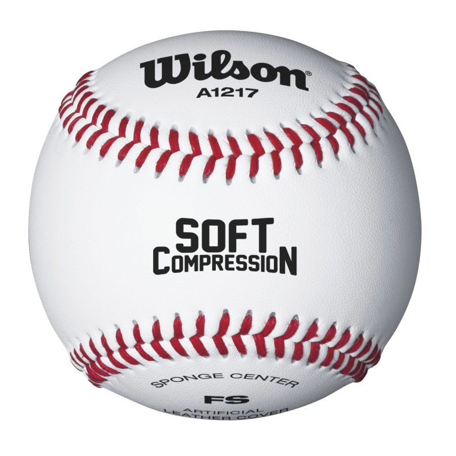 Wilson A1217b Soft Compression Baseballs Sports Advantage