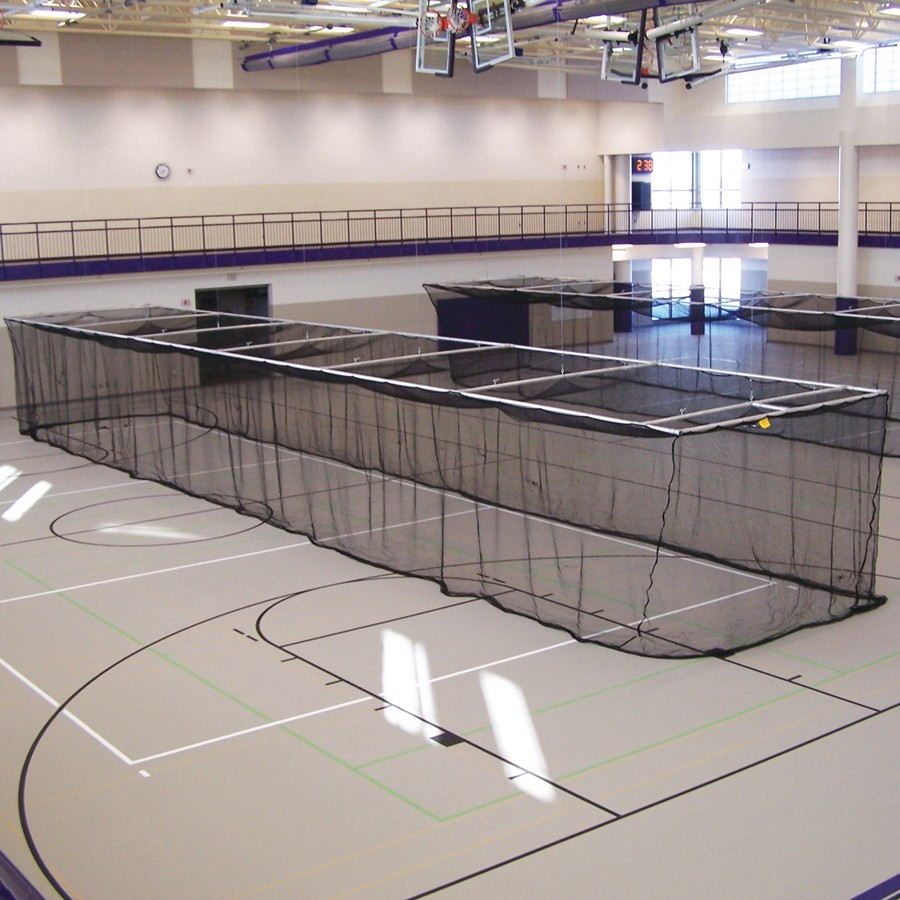 Jaypro Ceiling Suspended Retractable Batting Cages