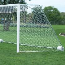 Bison 4mm 8'H x 24'W x 4'T x 10'B Soccer Goal Net Only
