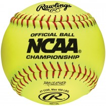 Rawlings NCAA Official 12'' Fastpitch Softball (NC12L)