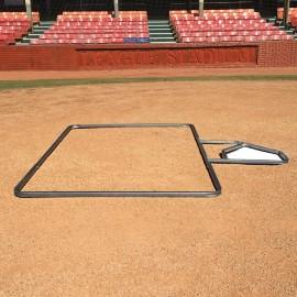 Standard 4' x 6' Baseball Batter's Box Template