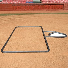 Standard 3' X 7' Softball Batter's Box Template