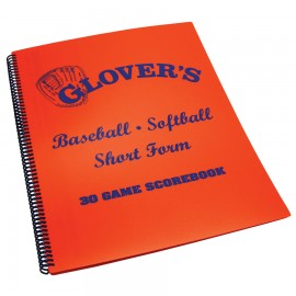 Glover's Baseball/Softball Short Form Scorebook
