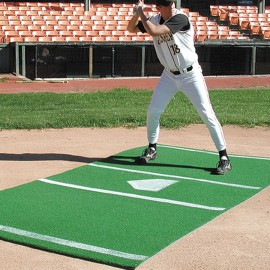 Bermuda Sports Turf 6' x 12' Baseball Home Plate Mat