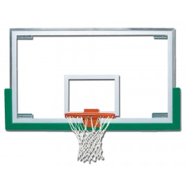 Bison BA42XL Competition Unbreakable Short Glass Backboard