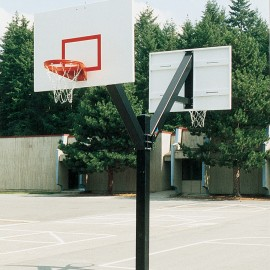 Bison Dbl Sided Fixed Ht Ult System W/ 60'' Alumin Backboard
