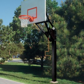 Bison Adjustable Height Ultimate System W/ 60'' Steel Backboard