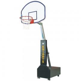 Bison Clubcourt™Portable Adjustable Basketball System-Fibe