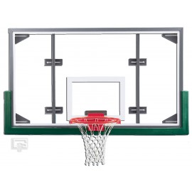 Gared ARG Competition Shatterproof Conv Short Glass Backboard