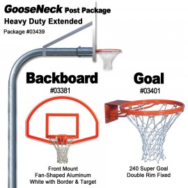 Gared Heavy-Duty Extended Gooseneck Package