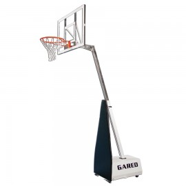 Gared Mini E-Z Portable Adjustable Basketball System