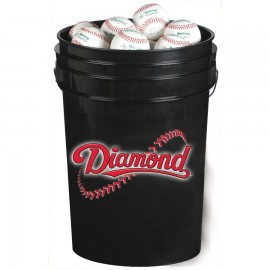 Diamond Bucket of DOL-X Practice Baseballs