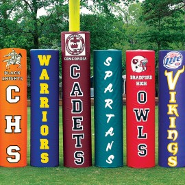 Fisher Goal Post Pads Varsity 7'H Dia 6'' and over