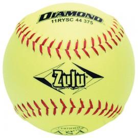 Diamond Zulu ASA Slowpitch 11'' Super Synthetic Softballs