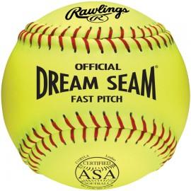 "Rawlings ASA and NFHS Dream Seam Fastpitch 11"" Softballs"