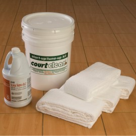 6' Courtclean® Start-Up Kit for Hard Floor Surfaces
