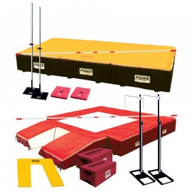 Fisher Combination Pole Vault and High Jump Pit Package