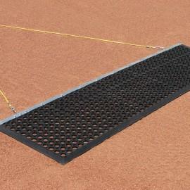Original Infield Eraser Mat Drag 6.5' x 2' with Tow Rope