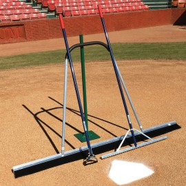Field Prep Package with Rake, Broom and Tamp