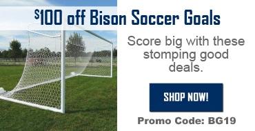 Bison Soccer Goals