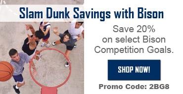Bison Slam Dunk