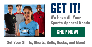 We Have All Your Sports Apparel Needs