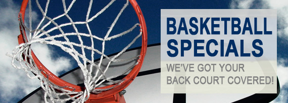 We've Got Your Back Covered With These Basketball Specials